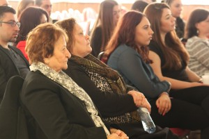 Audience during the lecture that was organized by AGBU Holland.