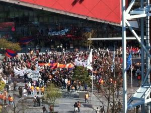 Demonstratie Den Haag 18-04-2015