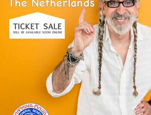 Vahe Berberian live show in Holland